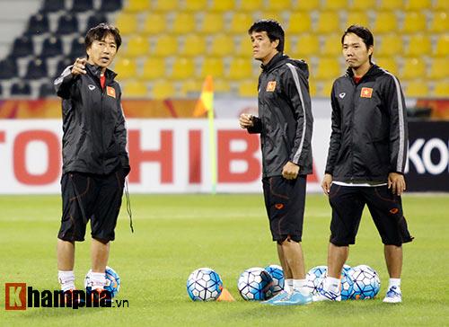 U23 Việt Nam: Công Phượng bất ngờ phải nghỉ tập - 3