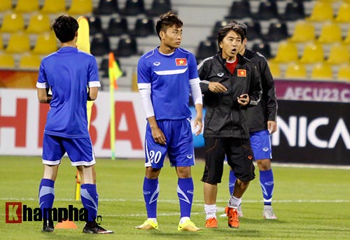 U23 Việt Nam: Công Phượng bất ngờ phải nghỉ tập - 11