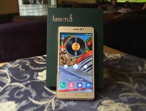 """Arbutus AR6 Plus - smartphone màn hình cong 2.5D giá """"không tưởng"""" - 3"""