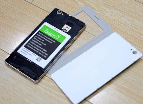 """Arbutus AR6 Plus - smartphone màn hình cong 2.5D giá """"không tưởng"""" - 4"""
