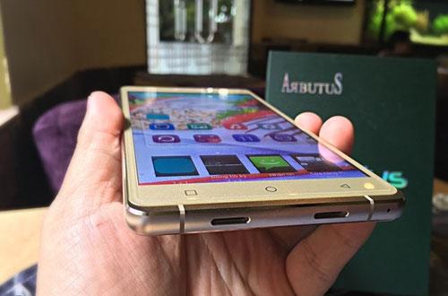 """Arbutus AR6 Plus - smartphone màn hình cong 2.5D giá """"không tưởng"""" - 5"""