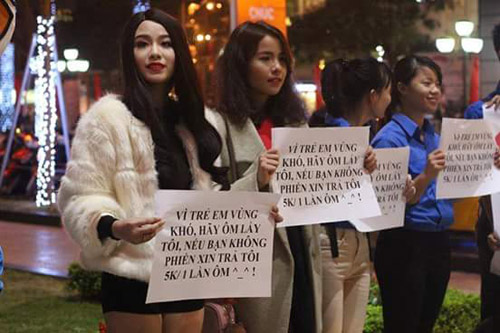 Linh Miu: 'Hãy ôm lấy tôi và trả công 5k mỗi lần ôm' - 1