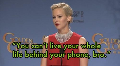 Jennifer Lawrence bị chỉ trích vì 'bắt bẻ' phóng viên - 2