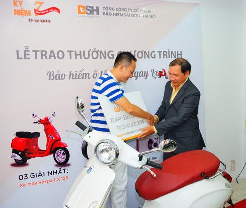 May mắn rinh xe LX khi mua bảo hiểm ô tô BSH - 1