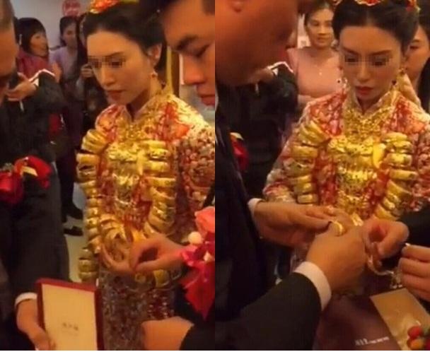 Lóa mắt với những đám cưới vàng ròng của đại gia ở TQ - 3