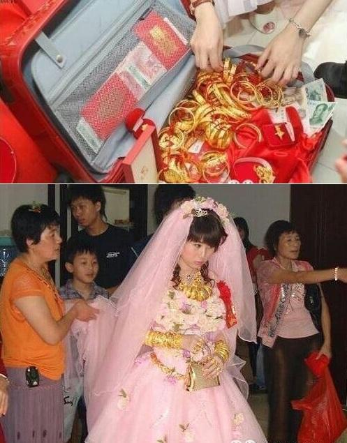 Lóa mắt với những đám cưới vàng ròng của đại gia ở TQ - 8