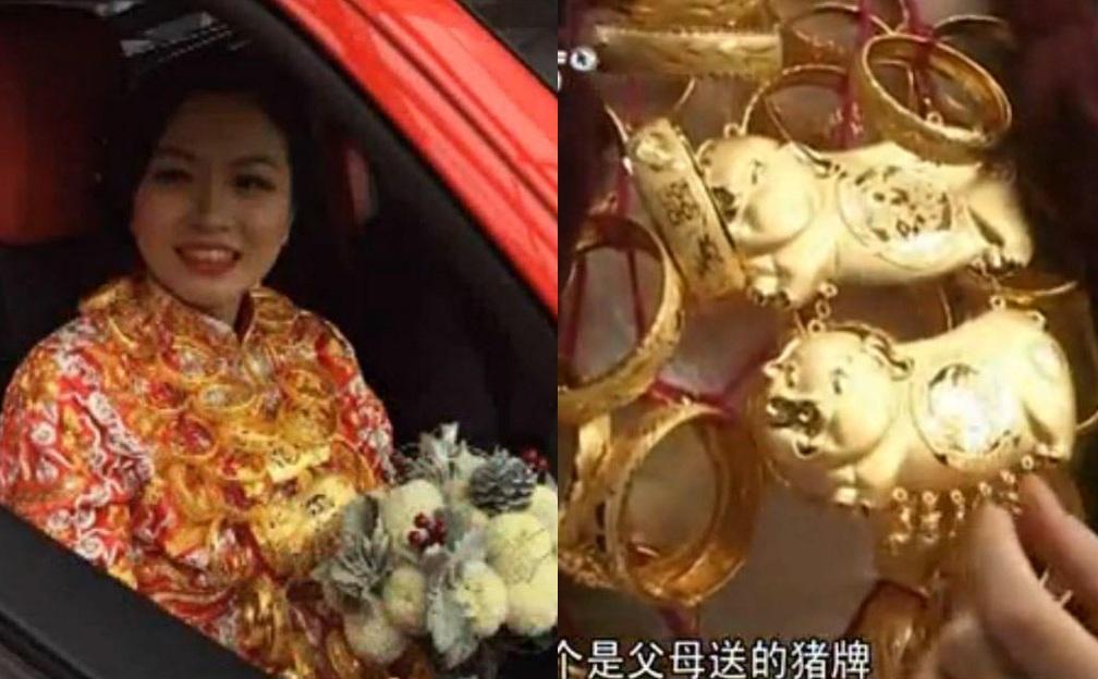 Lóa mắt với những đám cưới vàng ròng của đại gia ở TQ - 4