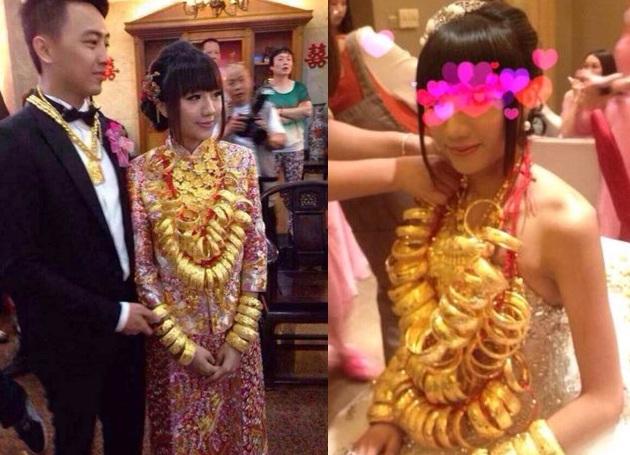 Lóa mắt với những đám cưới vàng ròng của đại gia ở TQ - 7