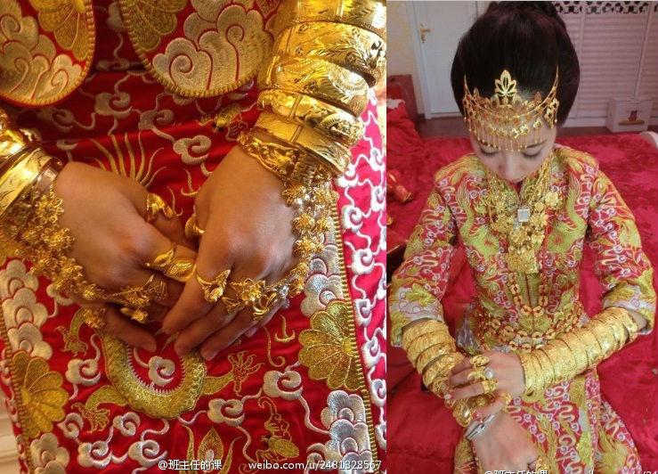 Lóa mắt với những đám cưới vàng ròng của đại gia ở TQ - 10