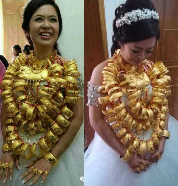 Lóa mắt với những đám cưới vàng ròng của đại gia ở TQ - 11