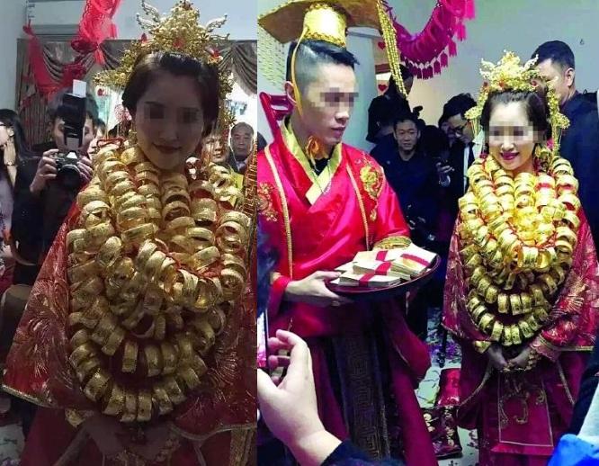 Lóa mắt với những đám cưới vàng ròng của đại gia ở TQ - 1