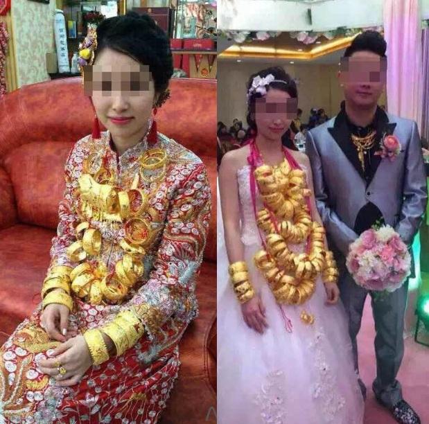 Lóa mắt với những đám cưới vàng ròng của đại gia ở TQ - 2