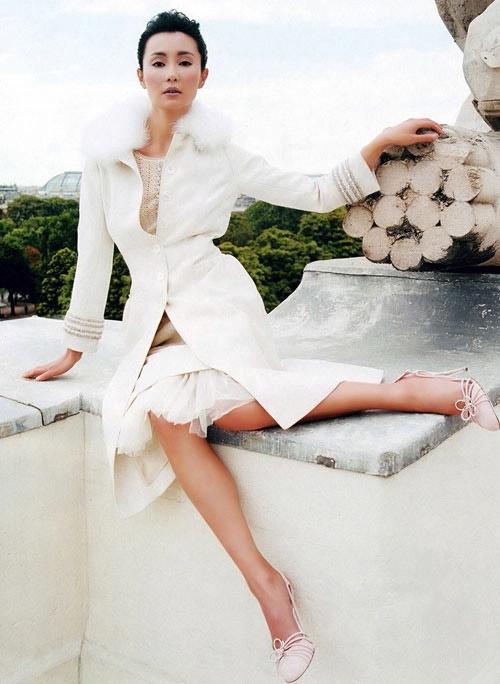 Đại mỹ nhân Hoa ngữ giữ vẻ đẹp mỹ miều bằng nước muối - 3