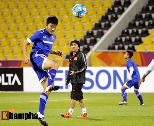 U23 Việt Nam: Công Phượng vẫn có thể đấu U23 Jordan - 1