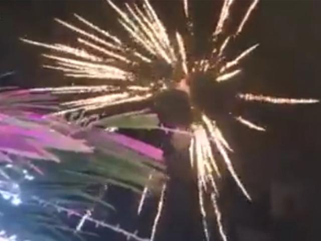 Bắn pháo hoa tại đám cưới xa hoa nhất Cà Mau là sự thật - 1