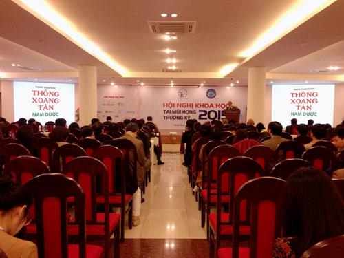 Thuốc thảo dược trị viêm xoang được giới thiệu tại hội nghị TMH Miền Bắc - 1