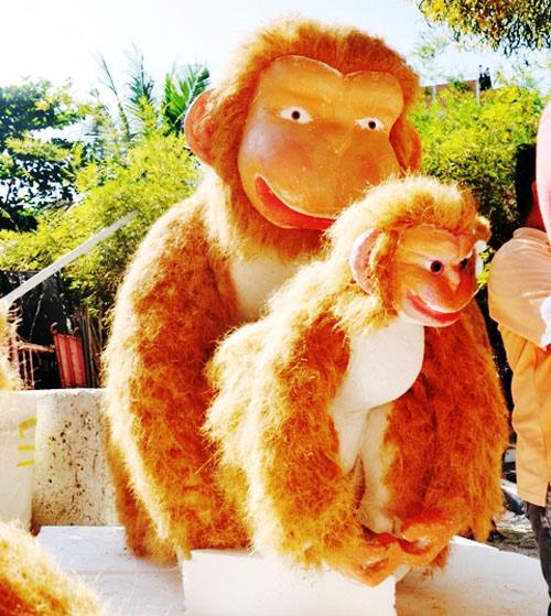 """Bầy khỉ """"khủng"""" sắp xuất hiện ở đường hoa Sài Gòn - 3"""