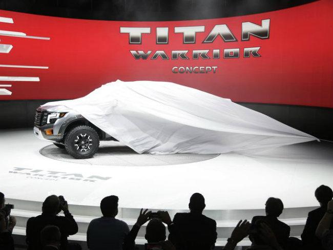 "Mẫu concept ""Chiến binh"" Titan Warrior của Nissan."