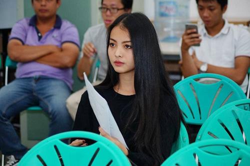 Bắt gặp hot girl Yu Dương đi casting phim - 3