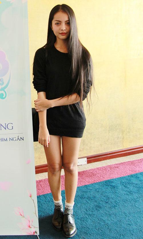 Bắt gặp hot girl Yu Dương đi casting phim - 1