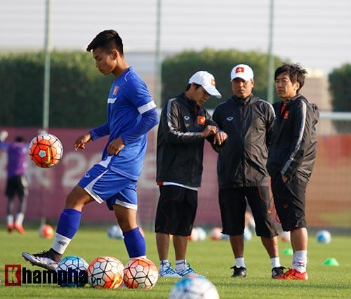 U23 VN: Thầy trò Miura cực tươi trước trận đánh lớn - 1