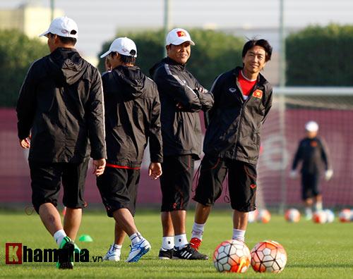 U23 VN: Thầy trò Miura cực tươi trước trận đánh lớn - 2