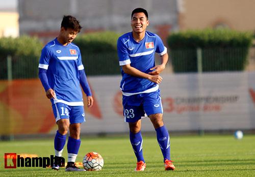 U23 VN: Thầy trò Miura cực tươi trước trận đánh lớn - 5