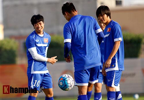 U23 VN: Thầy trò Miura cực tươi trước trận đánh lớn - 6