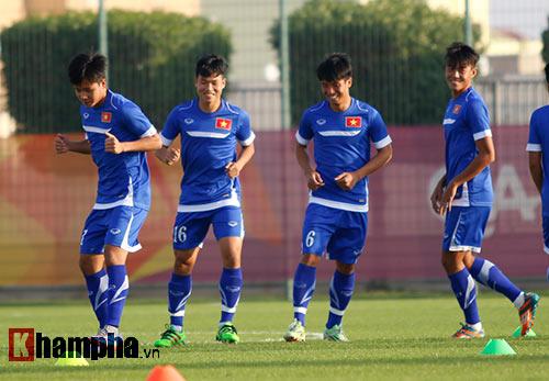 U23 VN: Thầy trò Miura cực tươi trước trận đánh lớn - 9