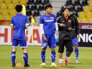 Bóng đá - U23 Việt Nam: Công Phượng bất ngờ phải nghỉ tập