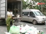 Video An ninh - Cận cảnh lò mì chính, bột giặt giả cực lớn ở HN