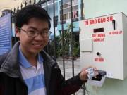 """Tin tức Việt Nam - Chiếc máy """"nhạy cảm"""" ở Đà Nẵng đắt khách"""