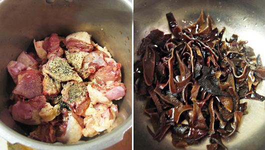 Thịt gà nấu đông hấp dẫn bữa cơm ngày mưa lạnh - 2