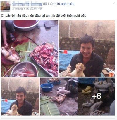 Không phạt được người tung ảnh giết khỉ dã man lên Facebook - 1
