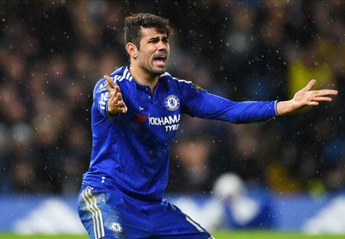 Bức xúc vì đánh rơi 2 điểm, Costa đấm thủng tường - 1