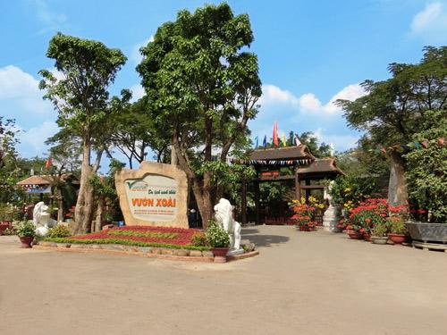 Du lịch sinh thái Vườn Xoài - điểm vui chơi Tết lý tưởng - 1