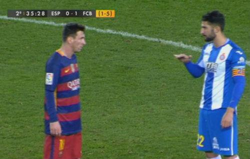"""Đội trưởng Espanyol chửi Messi là """"gã lùn"""" - 1"""