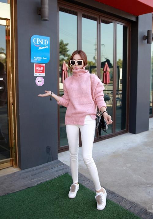 3 lý do khiến bạn không nỡ từ chối áo len cổ lọ - 12