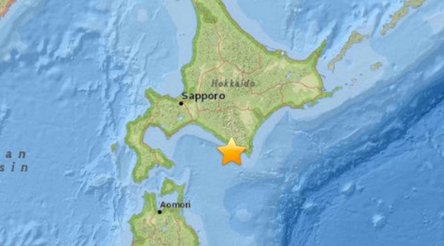 Động đất 6,7 độ richter tấn công Nhật Bản - 1