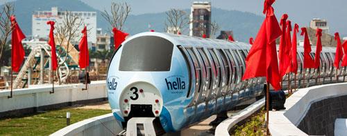 Monorail - Xe điện một ray trên cao tại Asia Park Đà Nẵng - 5