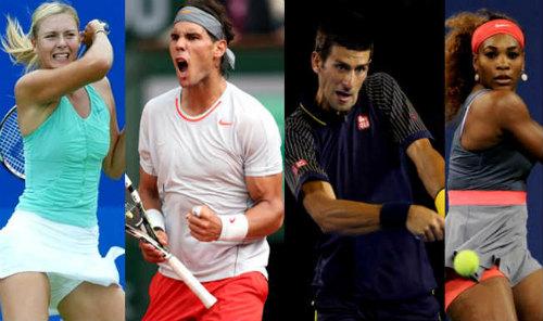 Hạt giống Australian Open: Báo động Nadal, Sharapova - 1