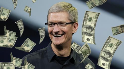 """CEO Tim Cook """"ẵm"""" 10,3 triệu USD trong năm 2015 - 1"""