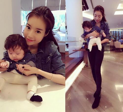 8 cặp mẹ con sao Việt sở hữu gu thời trang cực 'chất' - 6