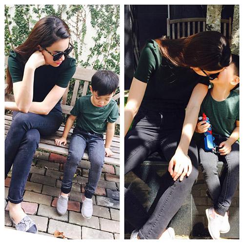 8 cặp mẹ con sao Việt sở hữu gu thời trang cực 'chất' - 7