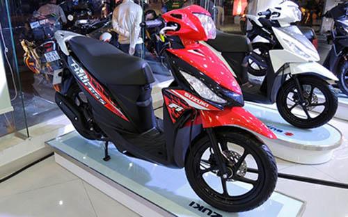 Suzuki tung xe ga cạnh tranh với Honda Vision - 1