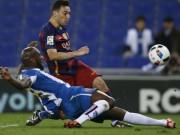 """Bóng đá - Espanyol - Barca: Đàn em """"che mờ"""" Messi"""
