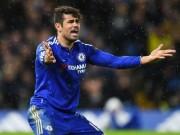 Bóng đá - Bức xúc vì đánh rơi 2 điểm, Costa đấm thủng tường