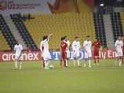 """Bóng đá - U23 Jordan ăn mừng """"dị"""" trước U23 VN"""