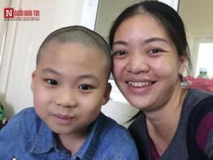 Nghẹn lòng tâm nguyện cuối của cậu bé 10 tuổi
