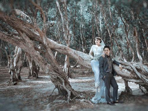 Ảnh cưới 'đẹp như phim Hàn' của người đẹp Trang Nhung - 6